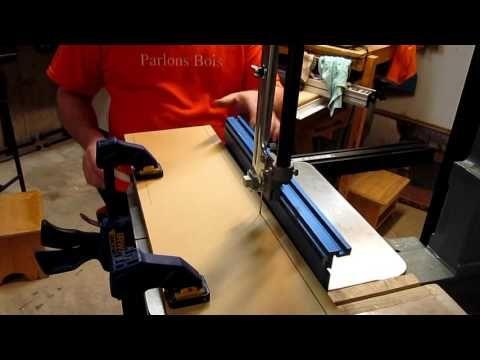 (47) Comment ajuster une scie à ruban pour éviter la dérive (drift) de la lame. Parlons bois Ep.179 - YouTube
