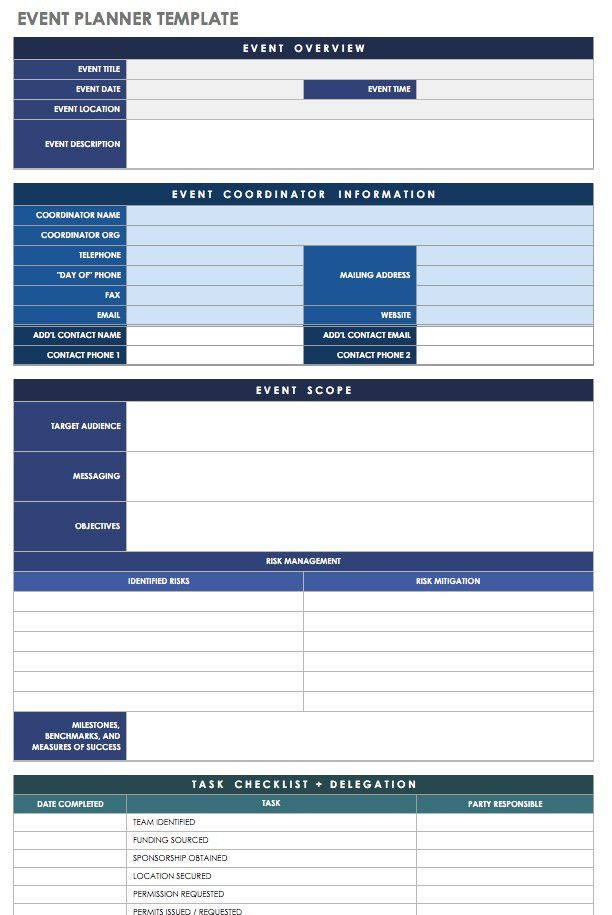 Free Event Planning Template Download Inspirational 21 Free Event Planning Templates Event Planning Guide Event Planning Template Event Planning Worksheet