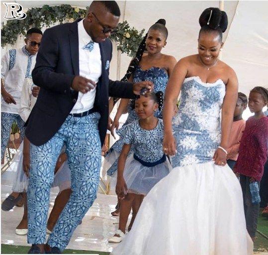 Choose Shweshwe Wedding Dresses