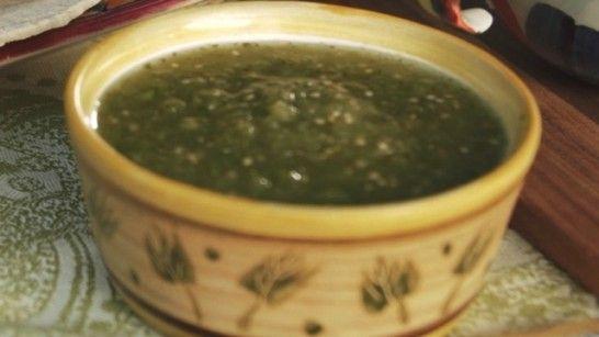 Salsa Verde Cruda with Avocado --http://www.patismexicantable.com/2014 ...