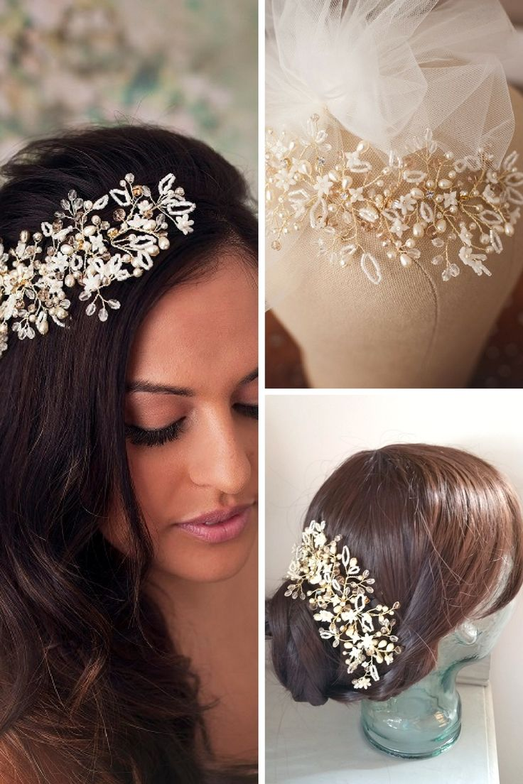 85 best mimosa - wedding hair accessories collection images on