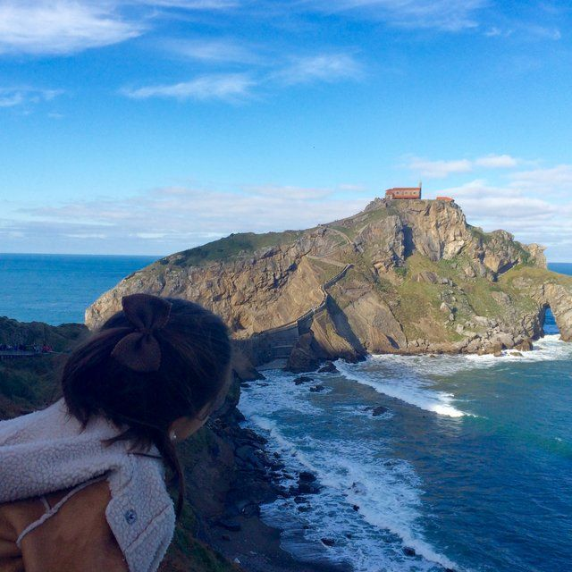 Como subir con niños a San Juan de Gaztelugatxe
