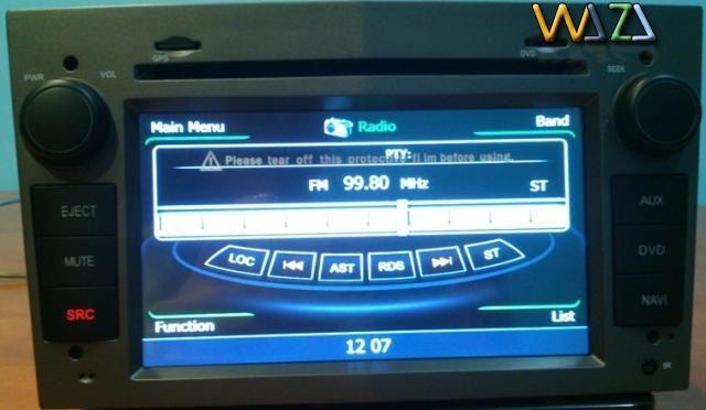 Navigatie Auto Opel Astra / Corsa / Vectra / Zafira cu camera marsarier