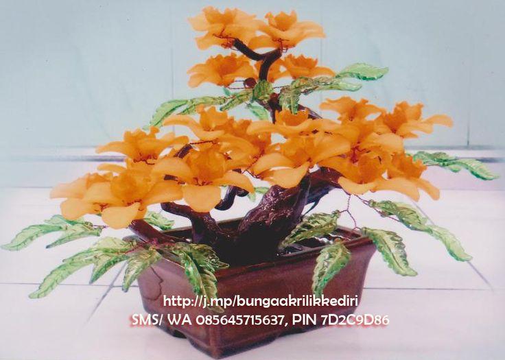 Bunga A010 - Bunga Akrilik Kediri