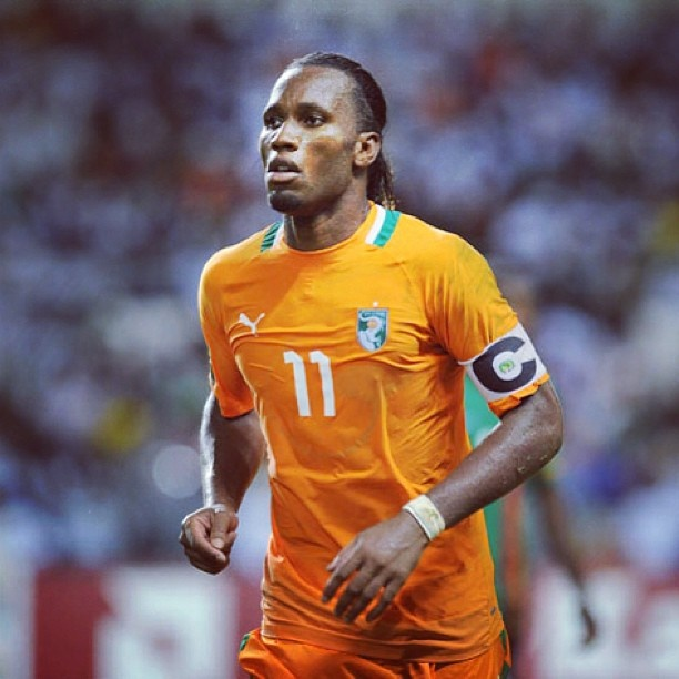 Didier Drogba Who Is Your Favorite African Soccer Player