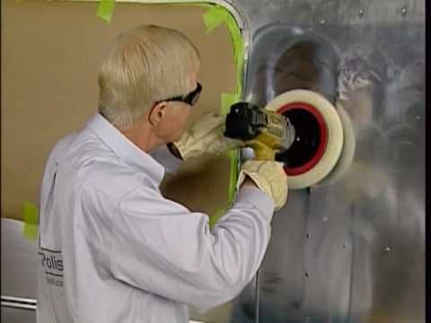 Airstream Restore DIY 10-2 Polish - YouTube