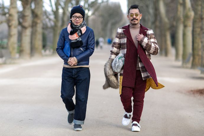 Fashion Week Winter Street Style