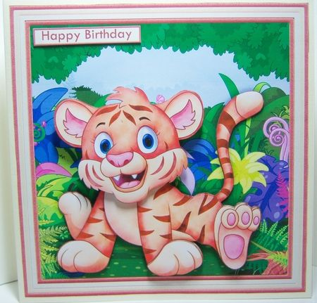 WOBBLY HEAD ANIMAL CARDS 7.5 Decoupage, Ages & Inserts Bumper Kit - CUP856652_68   Craftsuprint