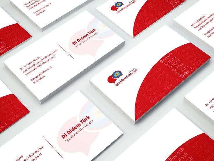 Visitenkarten für DT Sprachdienstleistungen #visitenkarten #grafikdesign #printdesign #corporatedesign #branding #agenturpixualis #pixualis