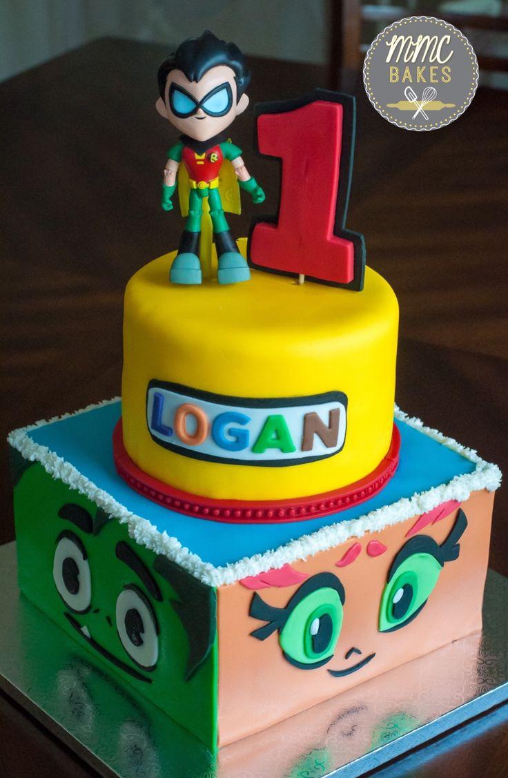 Teen Titans GO Cake – MMC Bakes