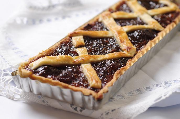 Para el té, tarta de mermelada de higos y almendras - lanacion.com | Mi cocina Amateur
