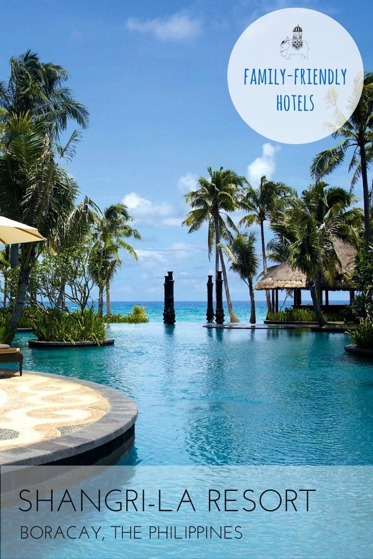 Family Hotel Review: Shangri-La Boracay Resort & Spa, The Philippines The Shangri-La Boracay offers the perfectly balanced holiday!  This luxurious hotel offers both relaxation and action packed water, sporting and creative activities. This is a superb re