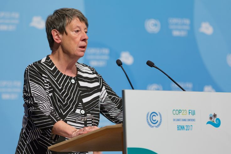 https://flic.kr/p/21dK8n4 | Her Excellency Ms. Barbara Hendricks, Minister for the Environment, Nature Conservation, Building and Nuclear Safety, Federal Republic of Germany