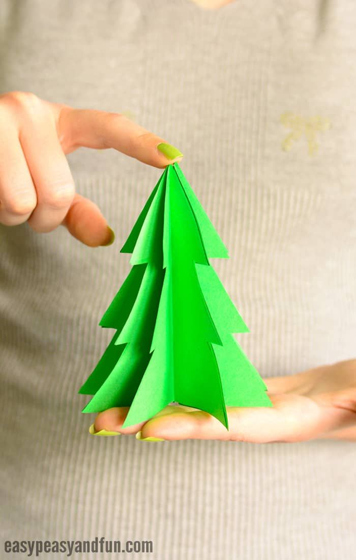 3d Paper Christmas Tree Template Easy Peasy And Fun Christmas Tree Template Paper Christmas Tree Paper Christmas Decorations