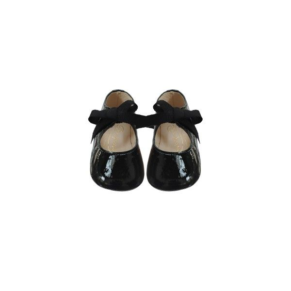 Georgie Soft Baby Shoes Black