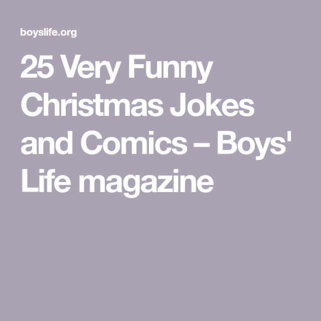 25 Very Funny Christmas Jokes and Comics – Boys' Life magazine