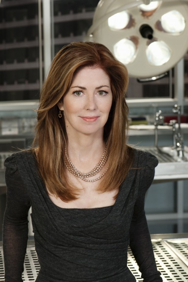 I love the color of her hair, and I love her show Body of Proof  Dana Delany