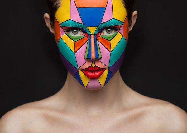 beauty and creative makeup