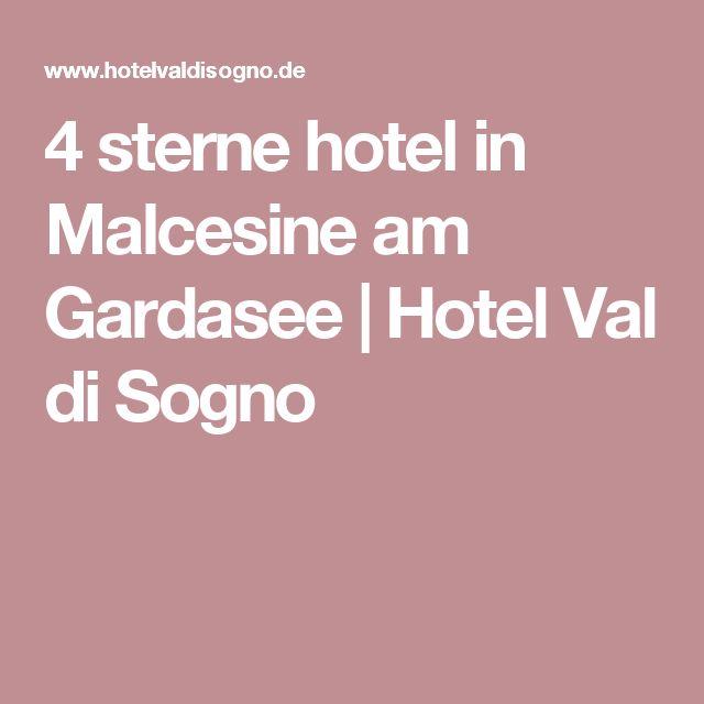 4 sterne hotel in Malcesine am Gardasee | Hotel Val di Sogno