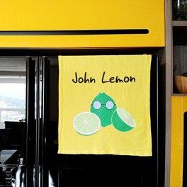 Pano de Prato John Lemon