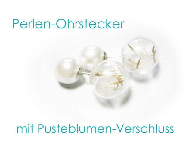 Perlen ohrstecker  Die besten 25+ Ohrstecker perlen Ideen auf Pinterest | Silber ...
