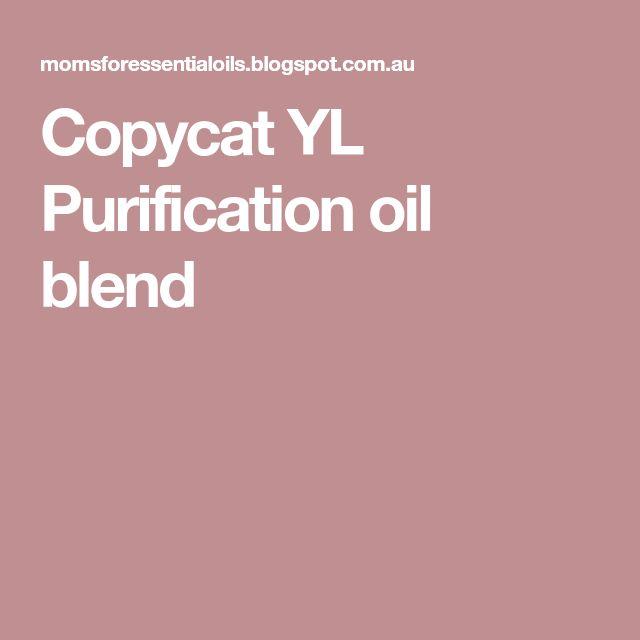 Copycat YL Purification oil blend