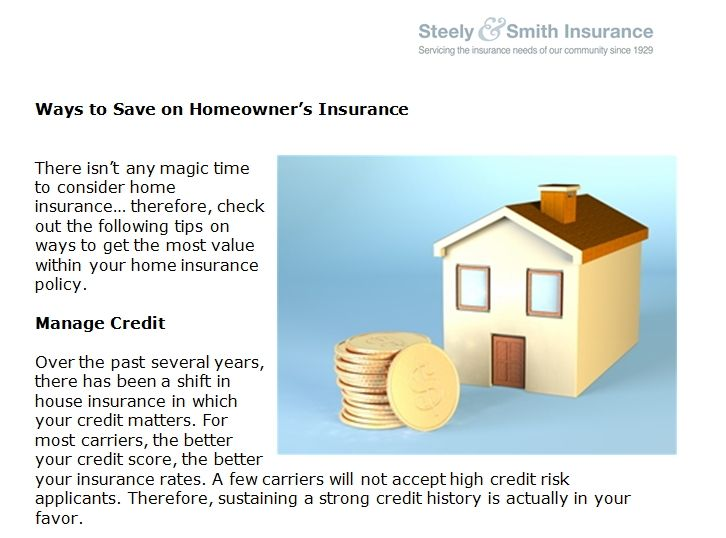 Ways To Save On Homeowner S Insurance Home Insurance Ways To