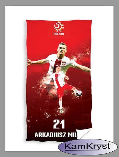 Ręcznik kąpielowy dla kibica reprezentacji Polski i fana Arka Milika