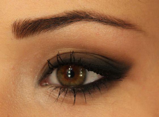 maquiagem olhos neutros bonitos sombra opaca