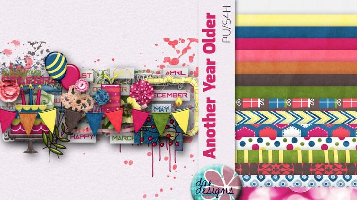 Another Year Older by Dae Designs