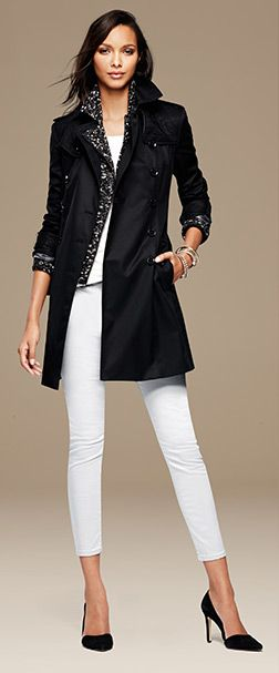 Women's Apparel: outfits we love | Banana Republic Love the jacket!