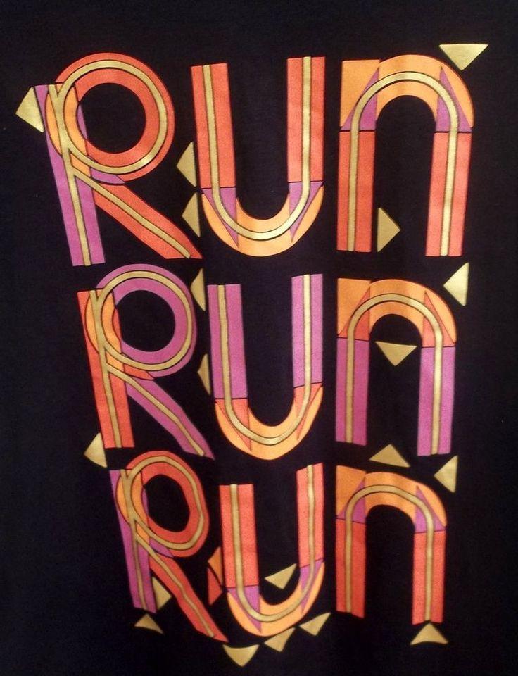 FILA Run Run Run Ladies Sport Shirt Adult M Medium New with Tags #Fila
