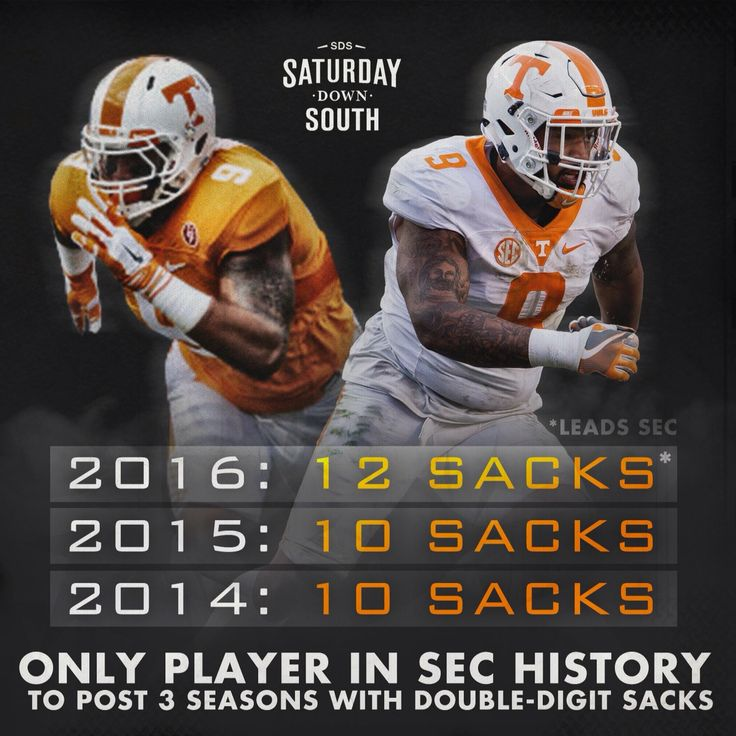 Tennessee Volunteers-Derek Barnett.