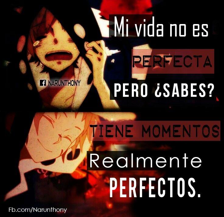 Mi vida no es perfecta, pero...