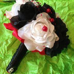 Gebraucht Brautstrauß Hochzeit künstliche Blumen