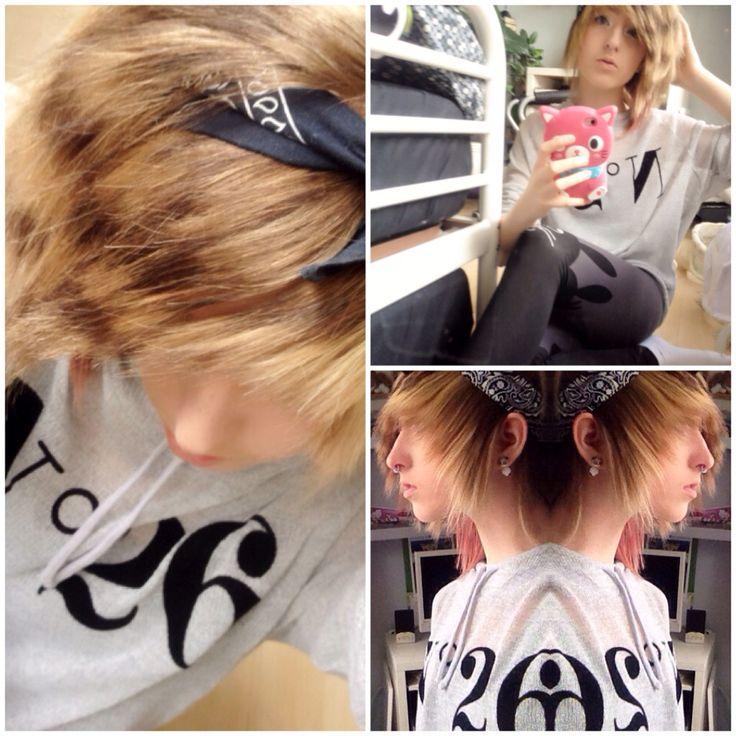 Scene girl outfit 2 T-shirt : tally weil Legins : family Headband ; newyourker
