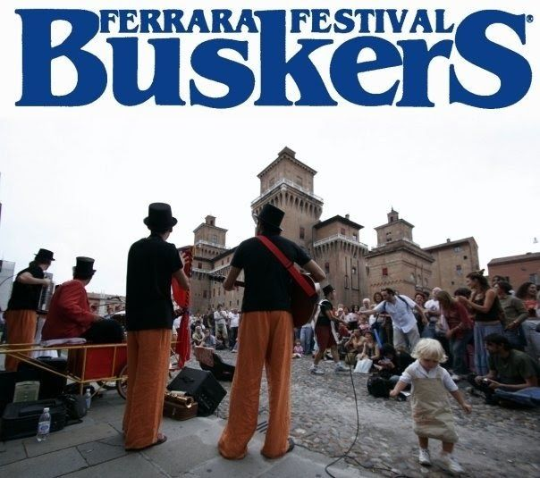 La Botteghilla: La Botteghilla al Ferrara Buskers Festival!!