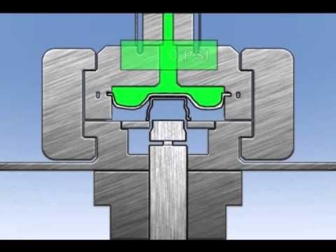 Triform Deep Draw Sheet Hydroforming Press Animation