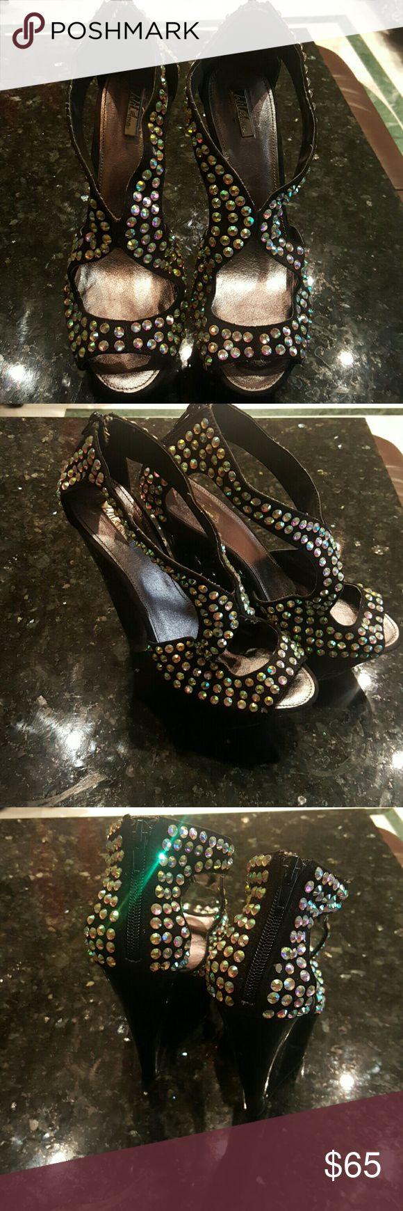 Rhinestone Wedge Pump Wild Pair Wild Pair Shoes Wedges