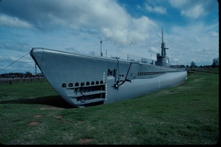 USS Batfish Submarine & Military Museum- Muskogee, OK. An actual World War II submarine, the Batfish sank three enemy submarines and eleven other enemy vessels during her tenure in battle...