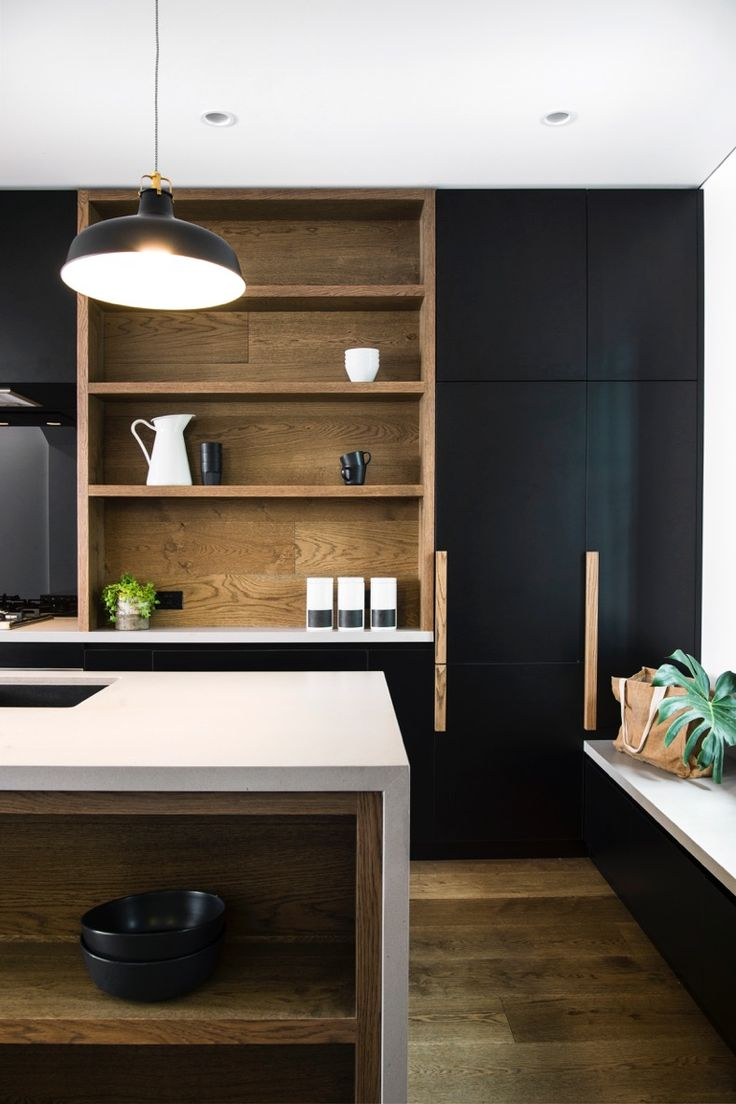 Love what we did with this Paddington terrace. Bench in the kitchen. Renovation. Black Tash Clark Architects. Oak