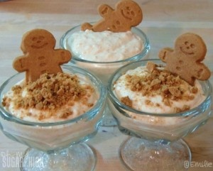 Gingerbread Pumpkin Pudding
