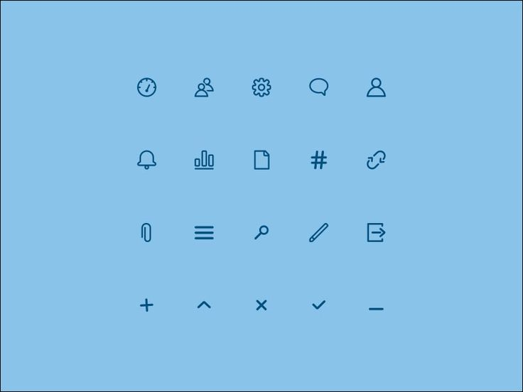 Иконки Helpcom