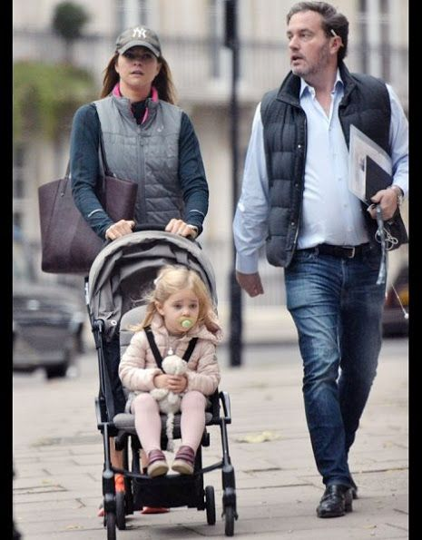Princess Madeleine, Christopher O'Neill and Princess Leonore in London