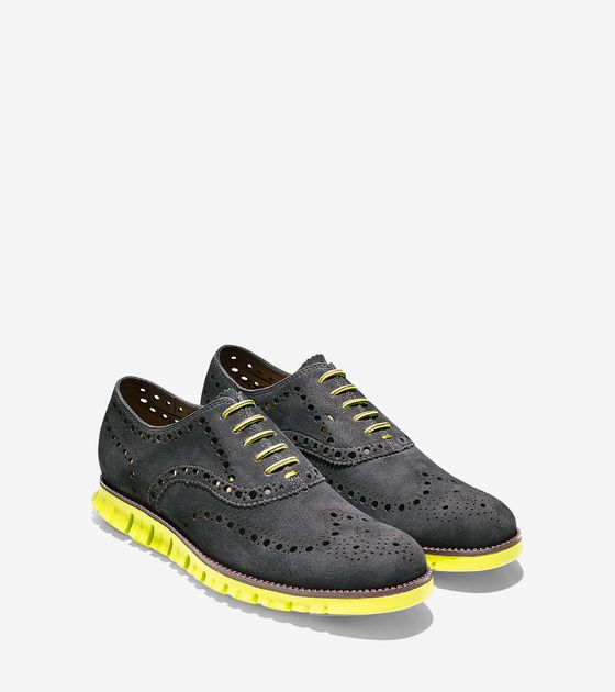COLE HAAN: ZeroGrand Wing Oxford: Ageless Classic for 21st Century