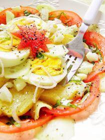 Sio-smutki: Sałatki z jajkiem - 6 propozycji