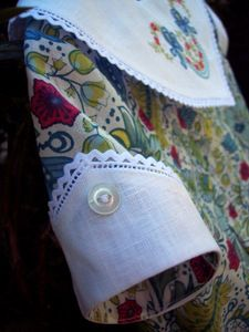 Susan Stewart Designs - sleeve on Lily pattern