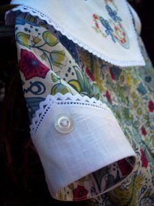 Susan Stewart Designs - sleeve on Lily pattern