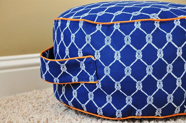 DIY floor cushion via young house love
