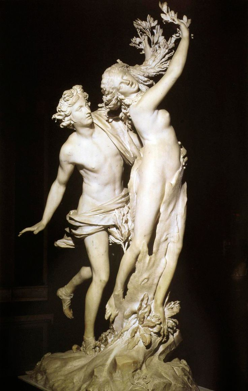 """""""Apollo and Daphne"""" - Lorenzo Bernini, ca. 1624, Rome, Galleria Borghese"""